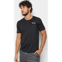Camiseta Adidas D2M Masculina - Masculino-Preto