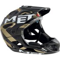Capacete Bike Ciclismo Full Face Dh Xc Enduro Met Parachute - Unissex
