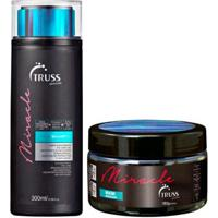 Kit Shampoo + Máscara Truss Professional Miracle - Unissex-Incolor