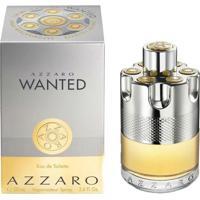 Perfume Azzaro Wanted Masculino Eau De Toilette