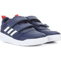 Tênis Infantil Adidas Tensaurus Velcro - Unissex-Azul+Branco