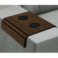 Esteira Flex Para Sofá Com Copos Imbuia