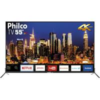"Tv Led 4K 55"" Philco Bivolt Ptv55Q50Sns"