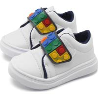 Tênis Tricae Menino Lego Branco