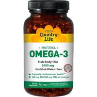 Omega-3 (50 Softgels) - Country Life - Unissex