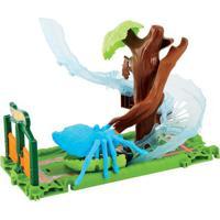 Pista Hot Wheels - City Spider Park Attack - Mattel