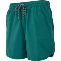 Bermuda De Banho Oxer Argentina - Masculina - Verde Escuro