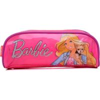 Estojo Infantil Sestini Simples 16M Rosa Barbie