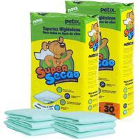 Tapete Higiênico Super Secão Pacote 30Un - 2 Pacotes