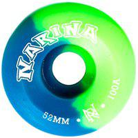 Roda Rajada Verde/Azul 52Mm