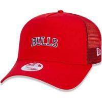 Boné New Era 940 Chicago Bulls Nba Aba Curva - Feminino
