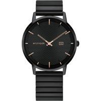 Relógio Tommy Hilfiger Masculino Aço Preto - 1791655