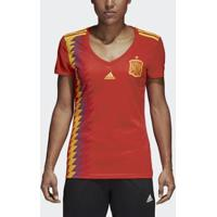 Camisa Adidas Oficial Espanha 1 2018 Feminina - Feminino