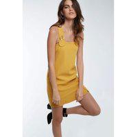 Vestido Lathy Amarelo Ouro - 42