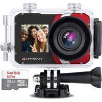 Câmera Digital Xtrax Selfie Preta Com 16 Mp, Tela Frontal De 1.3 E Traseira 2.0 , Wi-Fi E Gravação Em 4K - 801020