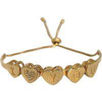 Bracelete Ajustável Y Love You Narcizza Semijoias Banhado No Ouro - P140(1)