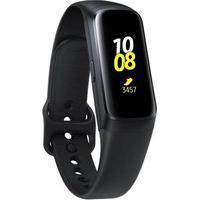 Smartband Samsung Galaxy Fit Preto Pulseira De Silicone E Monitor Cardíaco Preto