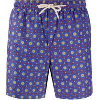 Peninsula Swimwear Short De Natação Ischia M4 - Roxo