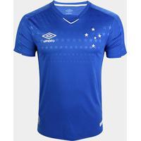 Camisa Do Cruzeiro I 19/20 S/N° Jogador Umbro Masculina - Masculino