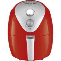 Fritadeira Elétrica Sem Óleo Fryer Silver 1270W 127V Afv-01 Vermelho - Agratto