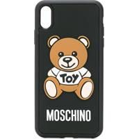 Moschino Capa Para Iphone Xs Max Toy Teddy - Preto