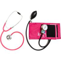 Aparelho De Pressão Rosa Com Esteto Duplo Rosa Pa Med