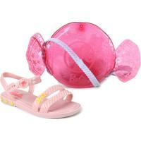 Sandália Grendene Barbie Infantil Feminina 22492