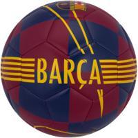 Bola De Futebol De Campo Barcelona Prestige Nike - Azul Esc/Amarelo
