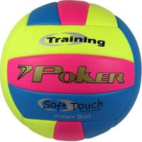 Bola De Volei Poker Training Neon - Unissex