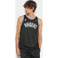 Regata Nfl Oakland Raiders New Era Sports Vein Masculina - Masculino