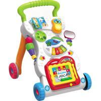 Brinquedo Interativo - Andador Infantil - Passo A Passo Divertido - Dreams Abc - Minimi