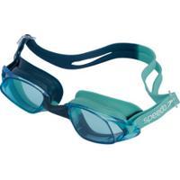 Óculos De Natação Speedo Glypse Slc - Adulto - Azul Esc/Azul Cla