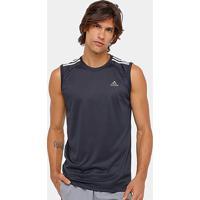65e7aa07b3 Netshoes  Camiseta Regata Adidas Ess 3S Egb Masculina - Masculino
