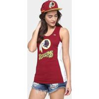 Camiseta Regata New Era Nfl Mesh Washington Redskins Feminina - Feminino