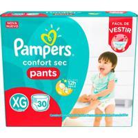 Fralda Descartável Pampers Pants Xg 30 Unidades - Unissex-Incolor