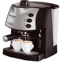 Máquina De Café Espresso Mondial - 15 Bar De Pressão, 800W De Potência, Vaporizador P Leite, Prepara Expresso E Cappuccino - C08 Coffee Cream