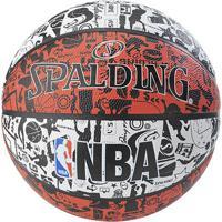 Bola Basquete Nba Spalding Graffiti Tam. 7 - Unissex