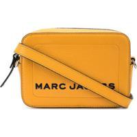 Marc Jacobs Bolsa Transversal The Box - Amarelo