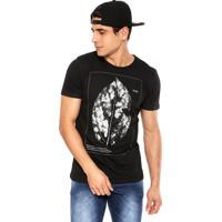 Camiseta Redley Estampa Preto