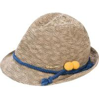 Chapéu Infantil Com Aplicação De Corda Marisol Feminino - Feminino-Bege