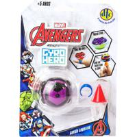 Pião De Batalha - Giro Hero - Disney - Marvel - Avengers - Gavião Arqueiro - Dtc