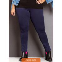 Calça Skinny Classic Blue Plus Size Azul