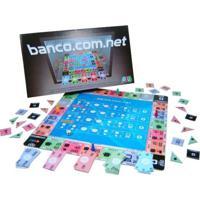 Jogo De Tabuleiro Nig Banco.Com.Net Multicolorido - Kanui