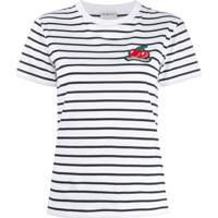 Fiorucci Camiseta Com Patch De Cereja - Branco