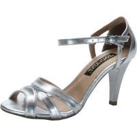 Sandalia Innovativi Metalizado Prata