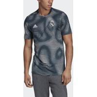 Camisa Adidas Real Madrid Pré-Jogo Masculina - Masculino