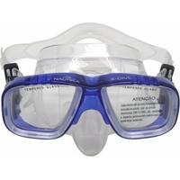 Máscara De Mergulho Nautika X-Dive Com Protetor Nasal - Unissex