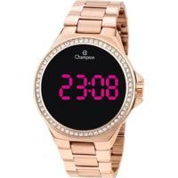 Relógio Champion Digital Ch40151Z Feminino - Feminino-Rosa