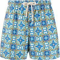 Peninsula Swimwear Short De Natação Praiano M1 - Azul