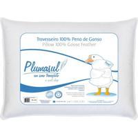 Travesseiro 100% Pena De Ganso-45X65